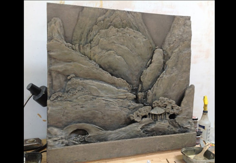 Wall Sculpture by Ron Rundo